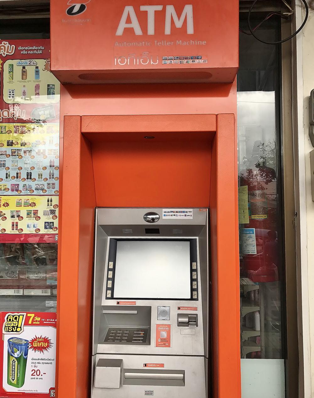 バンコク ATM