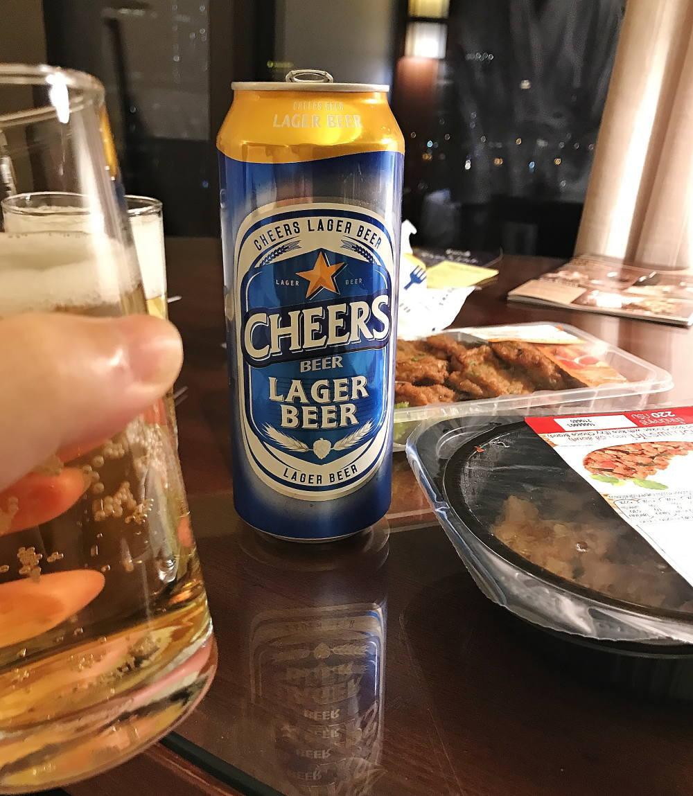 タイで一番美味しいビール CHEERS