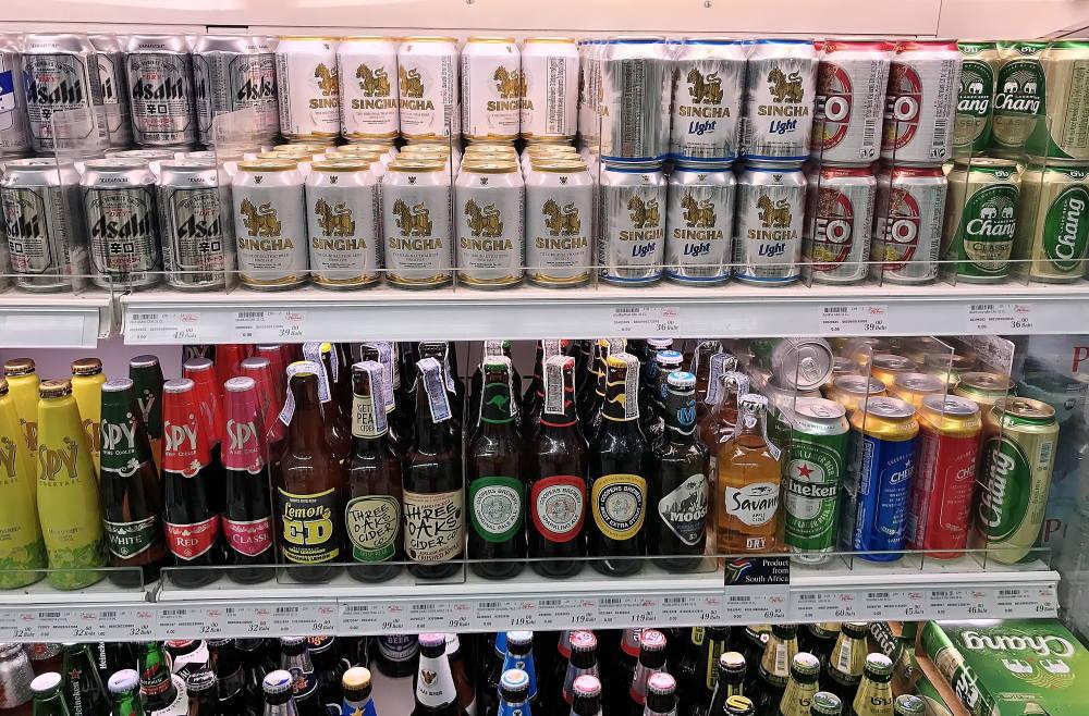 タイで買えるビールの種類