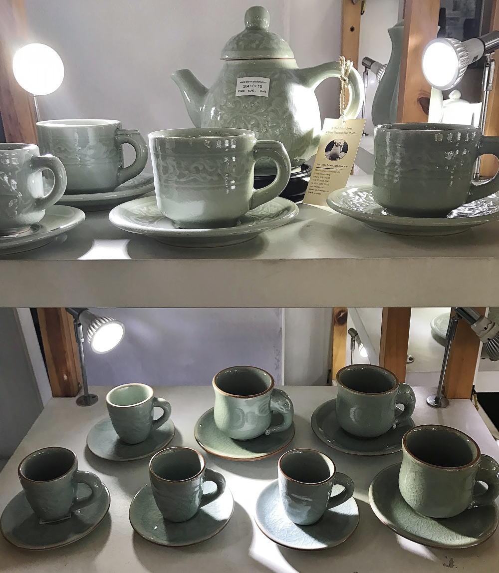 セラドン焼き コーヒーカップ
