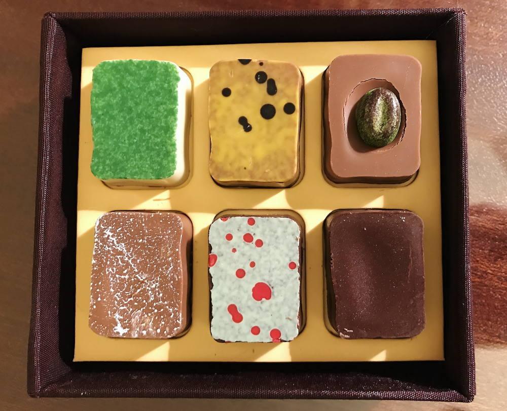 チョコレートブティック バンコク ボンボンショコラ 種類