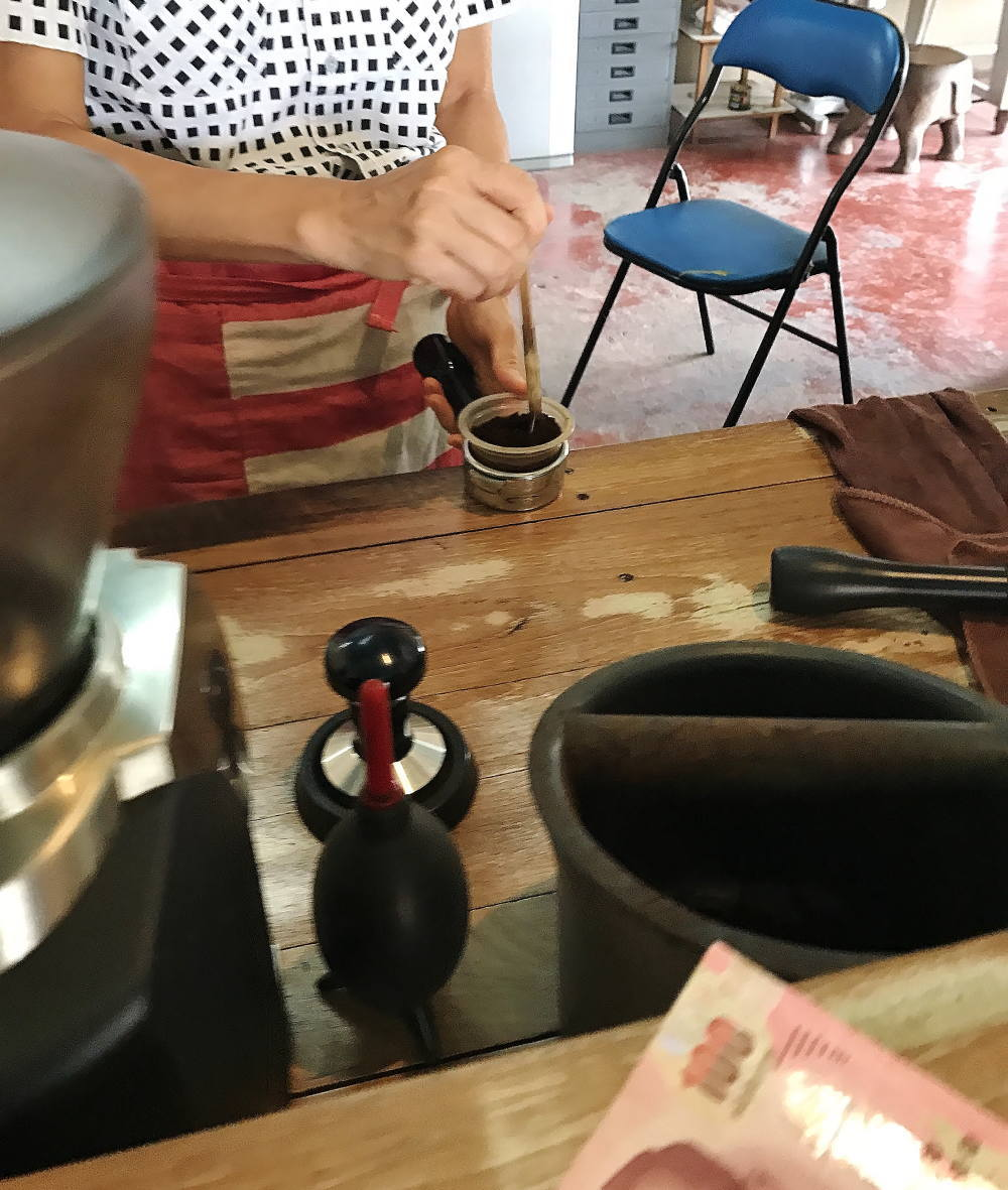 チェンマイのコーヒーショップ