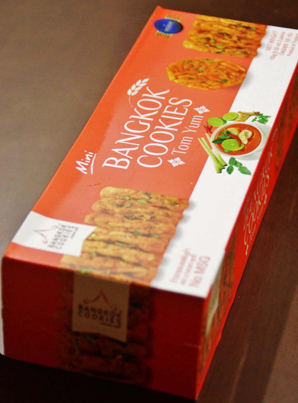 バンコククッキー トムヤム味 ライススナック