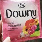 東南アジアで買う柔軟剤って楽しいよね。狙うは使い切りタイプ!「ダウニー、コンフォート、ハイジーン」