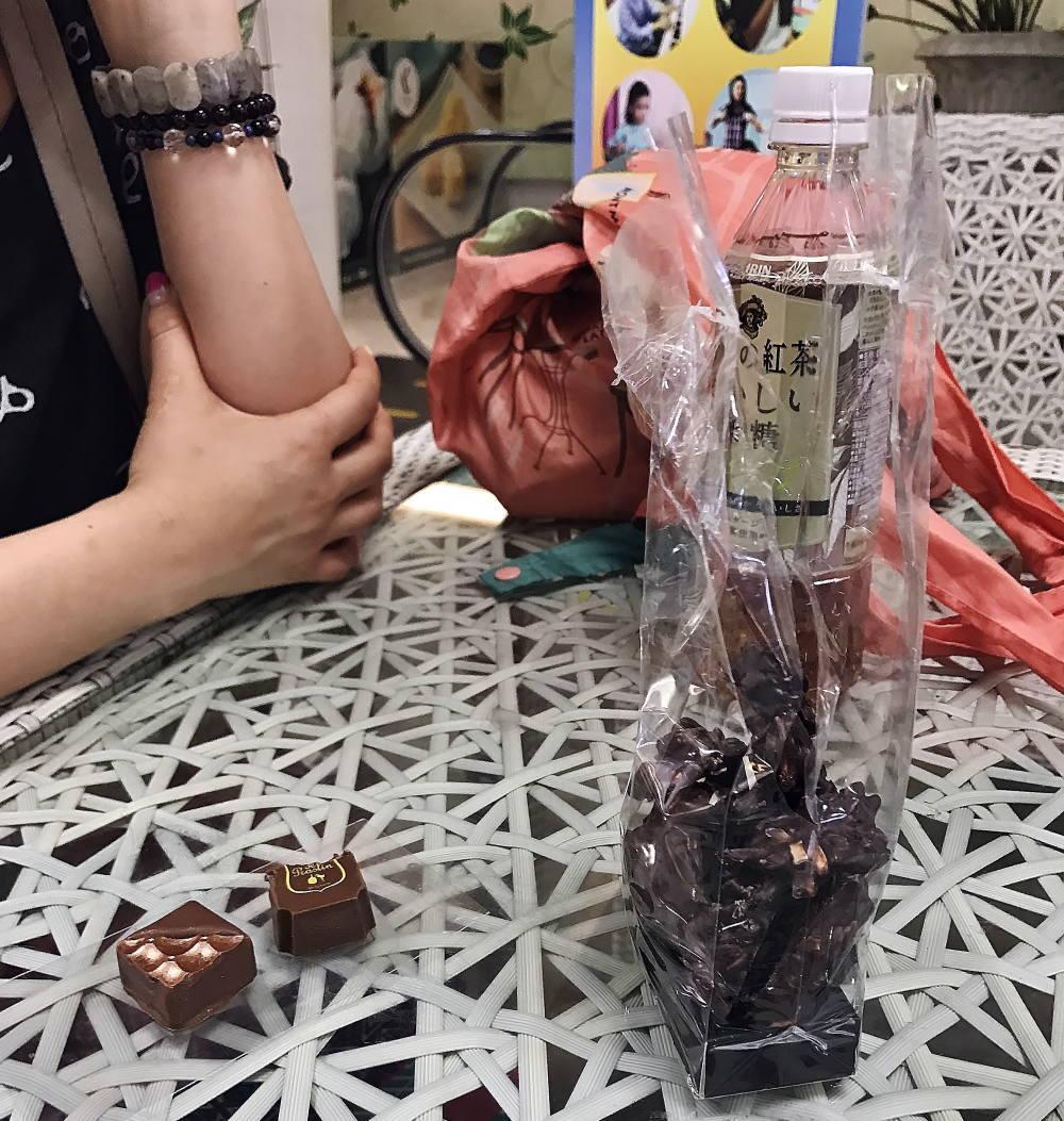 タイ バンコク チョコレート ボンボンショコラの種類
