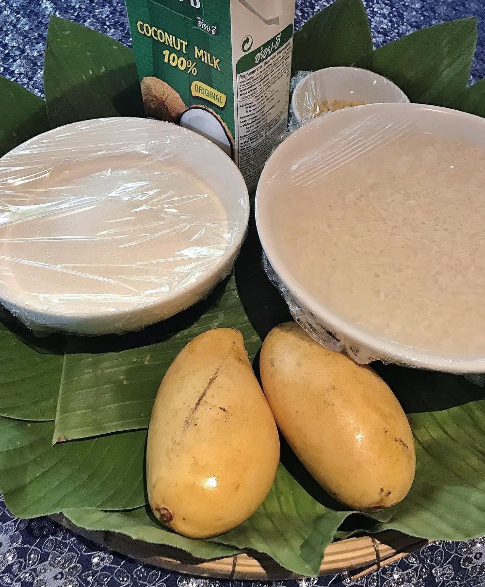 カオニャオ・マムアン 材料 レシピ