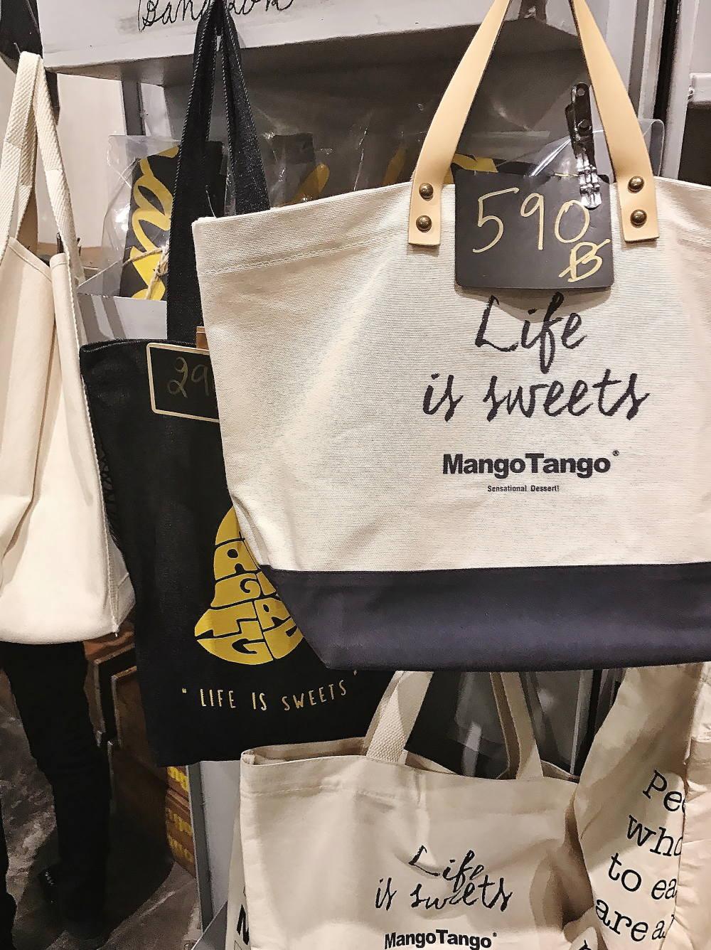 バンコク マンゴタンゴのオリジナルトートバッグ