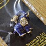 【バンコク】「ナラヤ」で買ったゾウさんブローチが可愛すぎる!