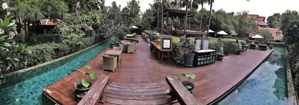 チェンマイ シリパンナホテル プール