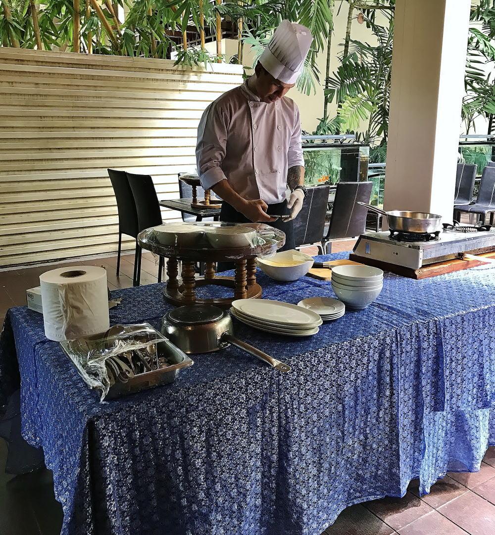 チェンマイ シリパンナホテル お料理教室