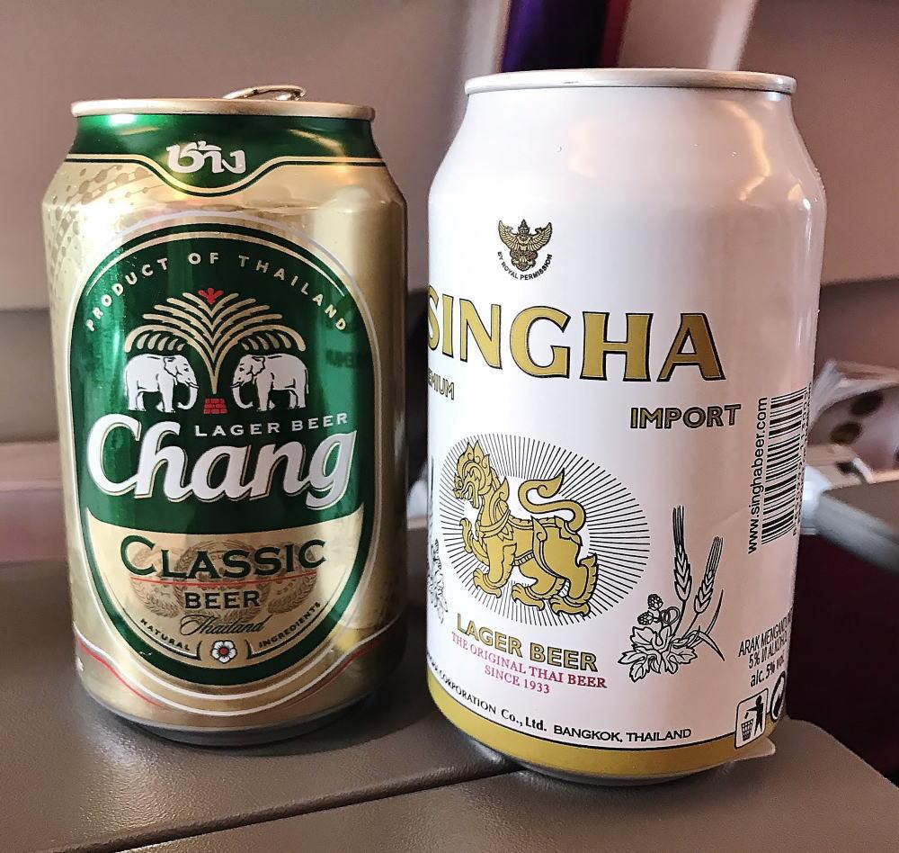 タイ航空 タイビール 種類