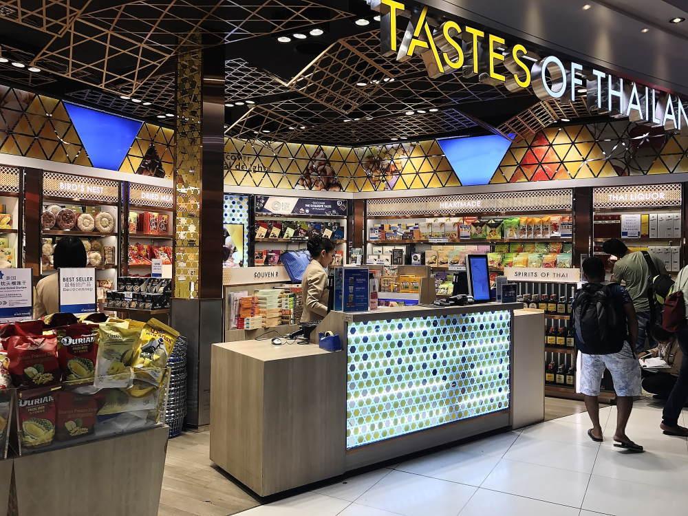 スワンナプーム空港 食品 売店