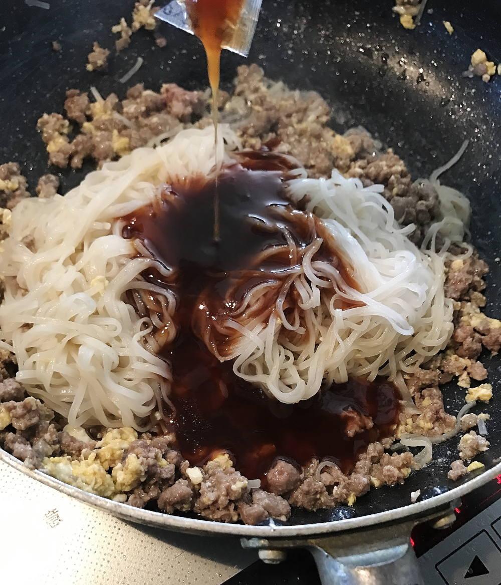 タイで買ったパッタイのセット 調理方法