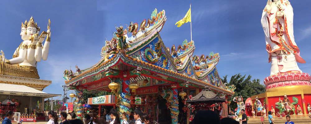 ワット・サマーンラッタナーラーム寺院 巨大仏像群